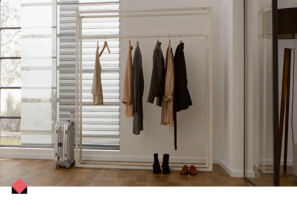 Tenda Per Cabina Armadio : Tende a rullo per cabina armadio best tende a pacchetto a righe
